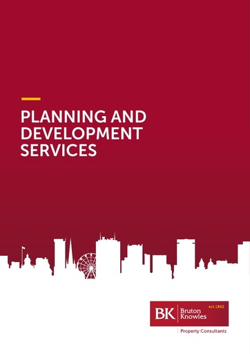 Bruton Knowles Planning and Development Services